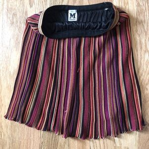 Missoni multi-colored stripped skirt